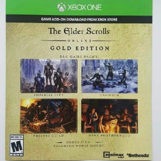 The Elder Scrolls Online Gold Edition Upgrade