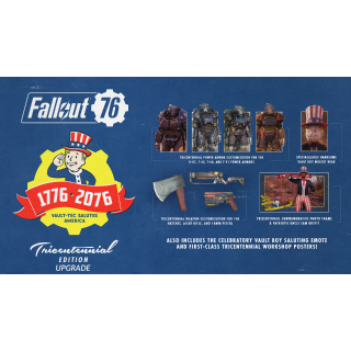Fallout 76 Tricentennial Edition Content