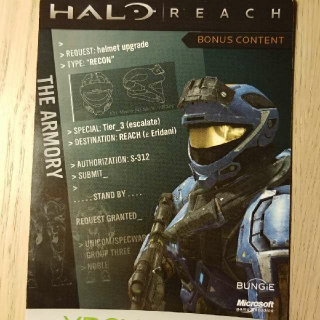 Halo Reach Recon Helmet