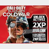 1 Hour double XP Token in Call of Duty Cold War