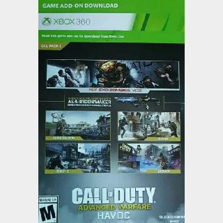 Havoc Map Pack For Call Of Duty Advanced Warfare