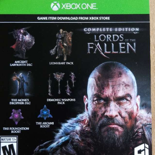 Lords Of The Fallen Complete Edition Upgrade