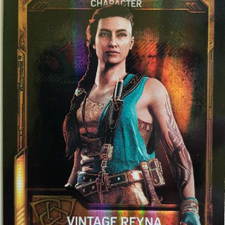 Vintage Reyna For Gears Of War 4