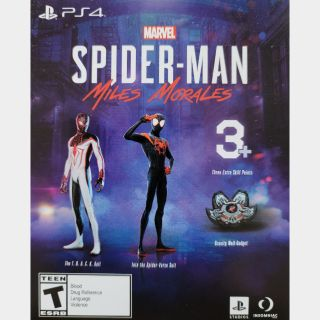Spider-Man Miles Morales Preorder Bonus