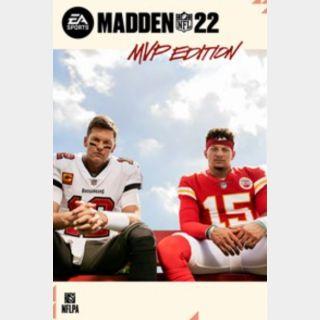 Madden NFL 22 MVP Edition Xbox Series X|S