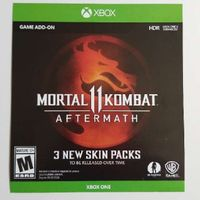 Mortal Kombat Aftermath Skin Packs