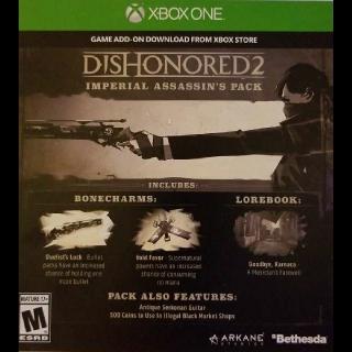 Dishonored 2 Preorder Bonus