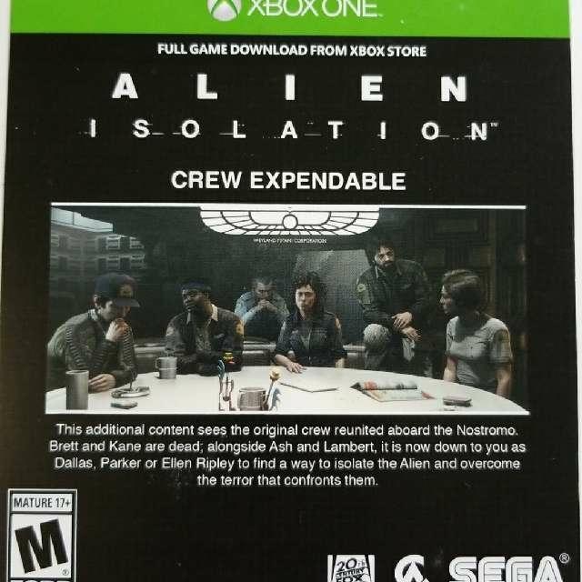 Alien Isolation Preorder Bonus