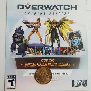Overwatch Origins Edition Digital Goodies Baby Winston (Read Description)