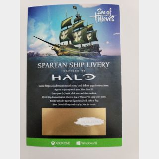 Halo Themed Ship for Sea of Thieves - Automatic Delivery!