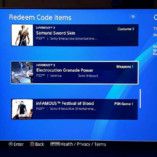 inFAMOUS Collection Super Voucher - PS3 Games - Gameflip