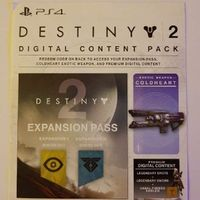 Destiny 2 Expansion Pass + EXTRAS