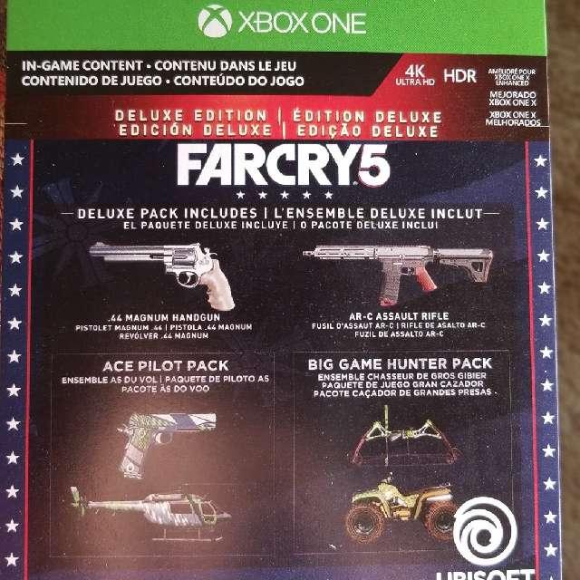 Far Cry 5 Deluxe Edition Upgrade + Preorder Bonus - XBox
