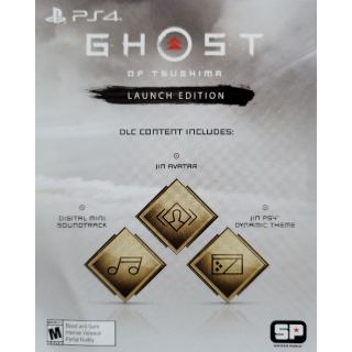 Ghost of Tsushima Preorder Bonus