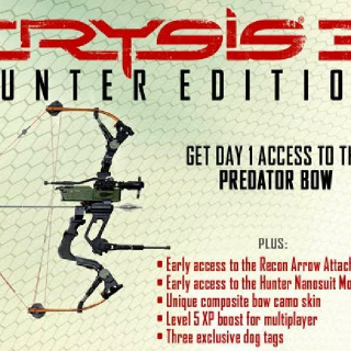 Crysis 3 Hunter Edition DLC