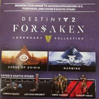 Destiny 2: Legendary Collection Upgrade + Preorder Bonus