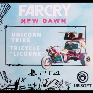 Far Cry New Dawn Unicorn Trike DLC