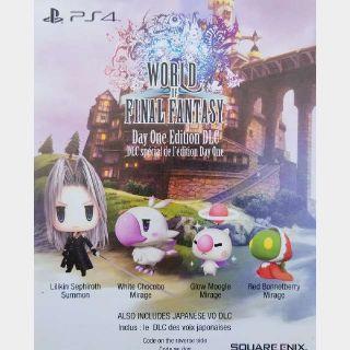 World Of Final Fantasy Preorder Bonus