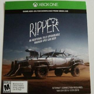 Mad Max Ripper DLC