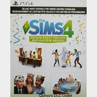 The Sims 4 Deluxe Party Edition Upgrade + Preorder Bonus