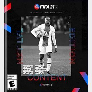 FIFA 21 NXT LVL Content Xbox Series X|S