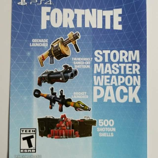 Fortnite Storm Master Weapon Pack Dlc Ps4 Games Gameflip