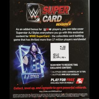 WWE Supercard QR Code