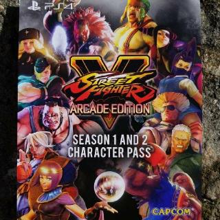 Street Fighter V Season 1 & 2 Character Pass
