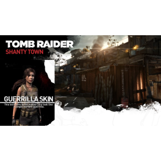 Tomb Raider: Shanty Town Map + Guerilla Skin DLC