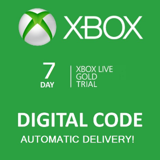 Xbox Live 7 Day Gold Trial