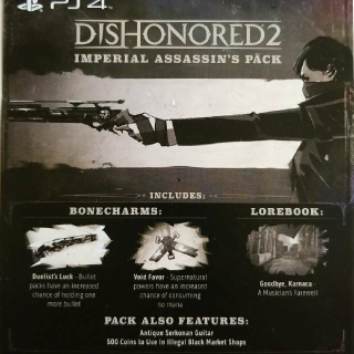Dishonored 2 Preorder Bonus