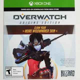Noire Widowmaker Skin For Overwatch