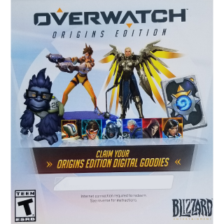 Overwatch Origins Edition Digital Goodies Baby Winston (Read Description)