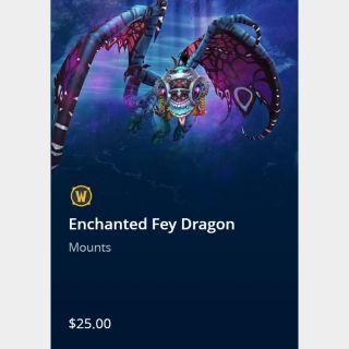 Enchanted Fey Dragon Mount in WoW