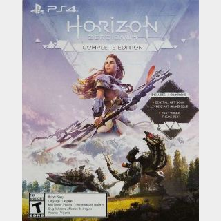 Horizon Zero Dawn Complete Edition Digital Bonus
