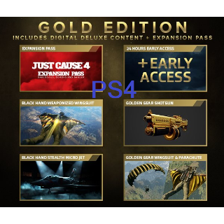 Just Cause 4 Gold Edition Upgrade + Preorder Bonus