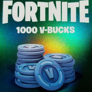 1,000 V-Bucks Code