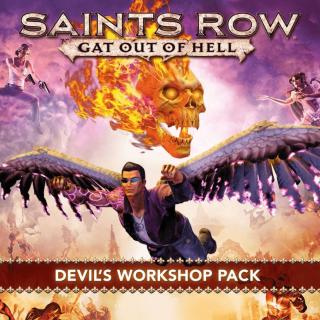 Saints Row Gat Out Of Hell Devil's Workshop Pack DLC