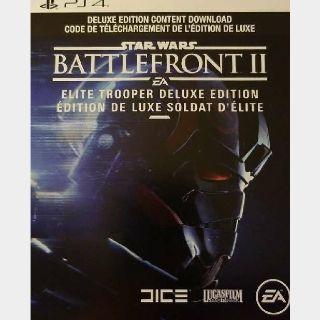 Star Wars Battlefront 2 Deluxe Upgrade