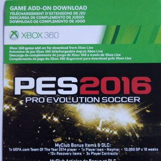 PES 2016 DLC