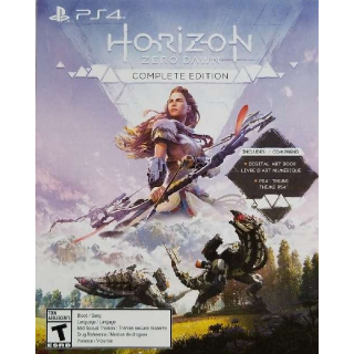 Horizon Zero Dawn Complete Edition Digital Bonus