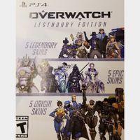 Overwatch Legendary Edition Skins
