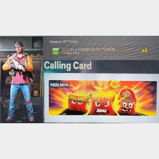 Cold War Operator and Calling Card