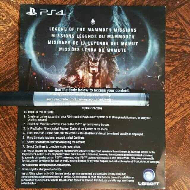 Far Cry Primal Preorder Bonus Ps4 Games Gameflip