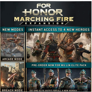 For Honor Marching Fire Expansion + Wu Lin Elite Pack