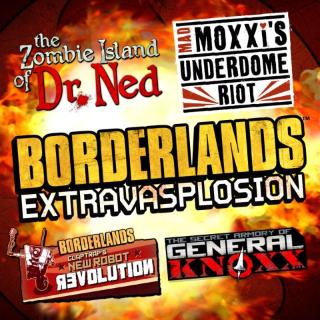 Borderlands Add-On Extravasplosion Bundle