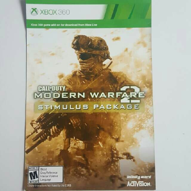 Call Of Duty Modern Warfare 2 Map Pack - XBox 360 Games - Gameflip Call Of Duty Modern Warfare Map Packs on