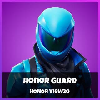 Honor Guard Skin Code For Fortnite Battle Royale