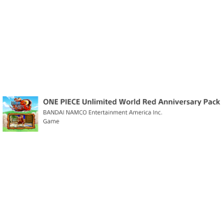 ONE PIECE Unlimited World Red Anniversary Pack