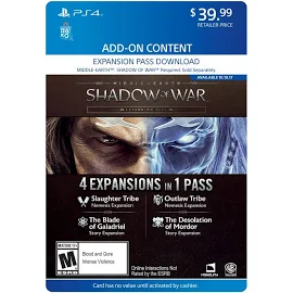 Shadow of War Season Pass